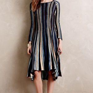 Moth - Anthro NWT Nora Striped Sweater Dress, XL